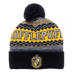 Harry Potter House Crest Pom Beanies