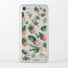 Clear iPhone Case by franciscomffonseca Funky Glasses, Buy Cactus, Iphone Cases, Big, Smartphone, Decor, Products, Decorating, Dekoration