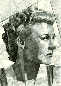 Sans titre - 07-01-15 (sold) Graphite on Canson Bristol paper (21 x 29,7 cm) (for sale / te koop) see more: www.corneakkers.com #arts #kunst #Corné #Corne #Akkers