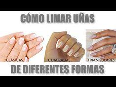 Cómo limar uñas para dar diferentes formas
