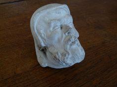 tête ancienne en plâtre  22€