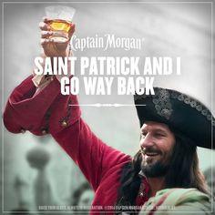 Saint Patrick and I go way back.