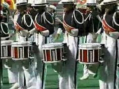 Crossmen Drumline 1992 I marched in 1997 but this line got me hooked on playing! They rocked! Marching Music, Marching Bands, Girl Drummer, Mellophone, Drum Solo, Drum Corps International, Drum Major, Drumline, Colorguard