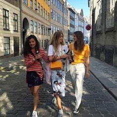 Ganni Girls at Distortion in the streets of Copenhagen #ganni #gannigirls