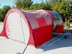 T@B c& trailer with the tent attached! & See! The T@B trailer tent seals all the way around! Iu0027m thinking ...