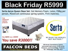 Special Black Friday Deals Only at Falcon Beds