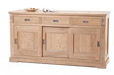 Bufet cu trei uşi Viggo Decor, Furniture, Vanity, Outdoor Buffet, Cabinet, Home Decor, Cupboard, Bathroom Vanity, Storage