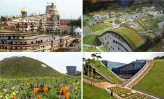 Green Roofs: Style   Sustainable = 17 Sweet Designs | Amazing Data Roof Styles, Green Roofs, Sustainability, Shelter, Amazing, Sweet, Design, Future Tense, Buildings