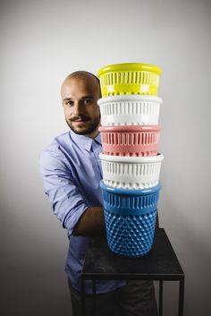 Vito Nesta e il suo ditale/vaso