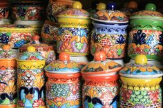 Mexican painted ceramics
