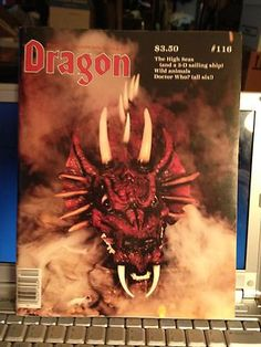 Dragon Magazine #116 (Vol 11 #7 December 1986)