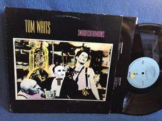 RARE Vintage Tom Waits  Swordfishtrombones Vinyl by sweetleafvinyl