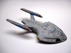 Starship Modeler Store: 1/677 Federation Rhode Island-class (Nova Refit) Science Vessel