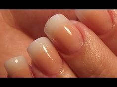 very natural looking solar nails - Google Search