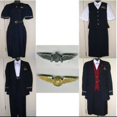 My American Airlines uniforms I wore in the late 1990's.