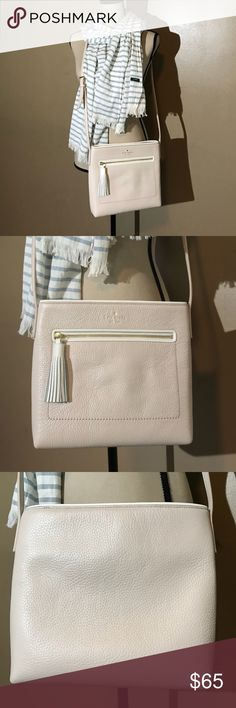 Kate Spade Chester Street Dessi This Kate Spade Chester Street Dessi is in Iike new condition! Very small spot on back of bag shown in last picture. No other visible signs of wear. kate spade Bags Crossbody Bags