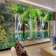 Wall Murals Nature Wall mural wallpaper nature jungle wilderness