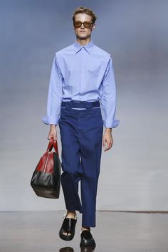 It's a season shaping up to be about bits: accessories – see above – and fashion accoutrements, for all the additional little constructions that featured atMarnito mak...