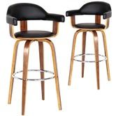Found it at Temple & Webster - Siena High Back Barstools
