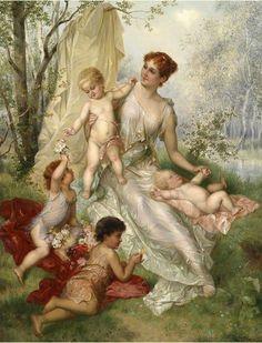 """Franz Lefler """"Maternal Bliss"""""""