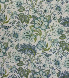 Home Decor Print Fabric Richloom- Crawford Azure