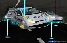 """Sci-Fi Car Trap"" - Digital drawing"