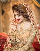 Indian Bridal Photo-Shoot Ideas and Images You are in the right place about Bridal Outfit etsy Here we offer you the most beautiful pictures about the muslim Bridal Outfit you are looking for. When yo Pakistani Bridal Makeup, Bridal Mehndi Dresses, Pakistani Wedding Outfits, Bridal Outfits, Pakistani Dresses, Bridal Dupatta, Indian Outfits, Wedding Dresses, Bridal Poses
