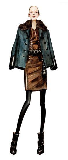 #fashion #IIustracion #moda #sketch #boceto