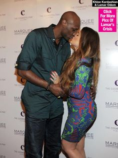 Khloe Kardashian Kissing & Holding Lamar Odom's Hand As He Recovers - http://blog.clairepeetz.com/khloe-kardashian-kissing-holding-lamar-odoms-hand-as-he-recovers/