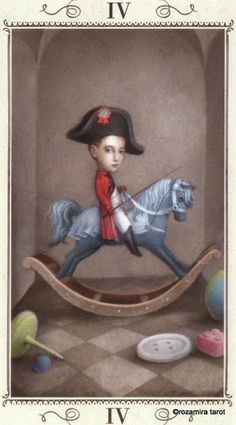 IV. The Emperor - Nicoletta Ceccoli Tarot by Nicoletta Ceccoli