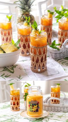 Sip sip hooray! Transport to a tropical paradise at home with my easy and delicious Pineapple Sweet Tea recipe and the Tropical Starfruit fragrance from @theyankeecandle NEW Last Paradise Collection! #sponsor #YCAmbassador Sweet Tea Recipes, Tropical Paradise, Yummy Drinks, Catering, Pineapple, Alcoholic Drinks, Sweet Home, Fragrance, Entertaining