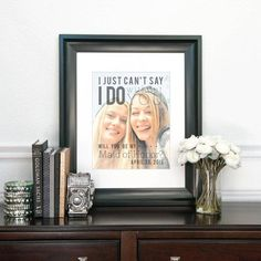 bridesmaid custom photo quote made especially for your maid of honor. you can customize this print in so many different ways and your bridesmaid will love this artwork.
