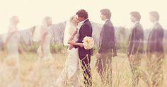 Wir lieben diese Hochzeitsfoto-Idee!!