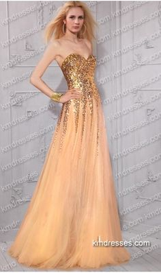 aluring  sparkling floor length sequin tulle evening dresses  Inspired by Taylor Swift 001