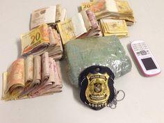DE OLHO 24HORAS: Jovem é presa com 500g de maconha e mais de R$ 8 m...