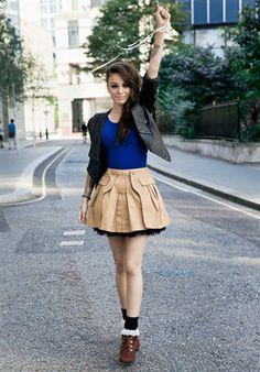 I love Cher Lloyd's style.:)