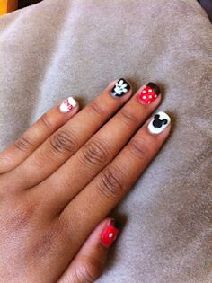 Best Disney manicure I have seen so far, this one is flat out awesome