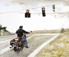 Andrew Wyeth - Stop - 2008 Andrew Wyeth Paintings, Andrew Wyeth Art, Jamie Wyeth, Nc Wyeth, Chadds Ford, Hero's Journey, Artist Quotes, First Art, American Artists