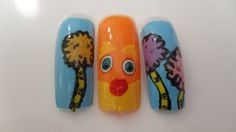 Lorax! Lorax, Nail Arts, My Nails, Inspiration, Design, Biblical Inspiration, Nail Art Tips, Nail Art, The Lorax