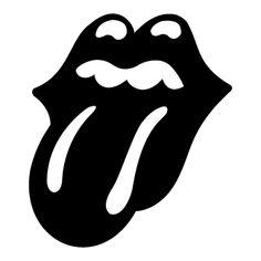 Sticker Rolling Stones logo