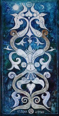 Dávid Júlia festőművész honlapja | Galéria | Összes kép Gold Embroidery, Julia, Hungary, Weird, David, Textiles, Ornaments, Studio, Tattoos