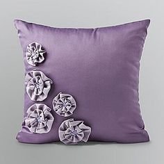 Spanish Harlem Decorative Pillow- Kardashian Kollection Home Elegant Bedroom Design, Kardashian Kollection, Girly Girl, Decorative Pillows, Throw Pillows, Cool Stuff, Purple, Bedroom Ideas, Spanish