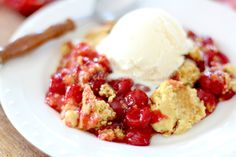 When it comes to fruit desserts, one of my easy favorites is the humble dump cake. It really has a terrible name but the idea behind it is ...