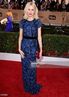Naomi Watts arrives at the 22nd Annual Screen Actors Guild Awards at The Shrine Auditorium on January 30, 2016 in Los Angeles, California.  (Photo by Steve Granitz/WireImage)
