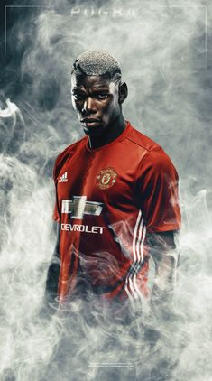 Paul Pogba Manchester United, Manchester United Legends, Manchester United Players, Neymar Football, Football Boys, Best Football Players, Soccer Players, Pogba Wallpapers, Mbappe Psg