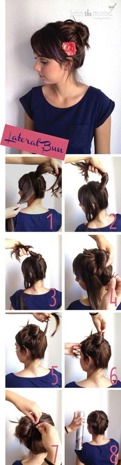 How To Make a Lateral Bun.