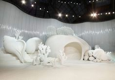 The Chanel Show. (Wallpaper* Magazine. Fashion week venues S/S 2012: womenswear collections. 25 Oct 2011)