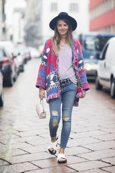 Vogue UK Fashion week Milan Carlotta Oddi, fashion assistant
