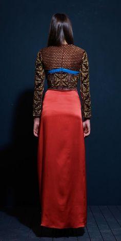 Silk Occasion Dress on TROVEA.COM