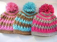 Crochet Pattern Hat Crochet Hat Pattern por CrochetBabyBoutique